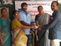 Coronavirus preventive medicine distributed by UARDT at 7th Ward Municipal Primary School, Tadepalligudem on 11-March-2020