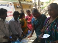 Coronavirus preventive medicine distributed by UARDT at Vallurupalle Village on 12-March-2020