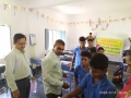 Coronavirus preventive medicine distributed by UARDT at Z.P.P High School, Komaravaram on 12-March-2020
