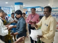 Coronavirus preventive medicine distributed by UARDT at SBI Branch, Pithapuram on 13-March-2020