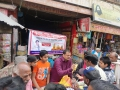 Coronavirus preventive medicine distributed by UARDT at Police Pole, Alinagar Chowk, Gorakhpur on 14-March-2020