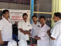 Coronavirus preventive medicine distributed by UARDT at Dandagarra Village on 14-March-2020