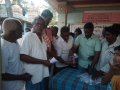 Coronavirus preventive medicine distributed by UARDT at Kapu Ramalayam, Kakarlamudi Village on 15-March-2020