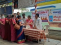 Coronavirus preventive medicine distributed by UARDT at Sripada Srivallabha Maha Samsthanam, Pithapuram on 15-March-2020