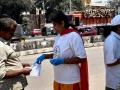 Coronavirus preventive medicine distributed by UARDT at Vanasthalipuram, Hyderabad on 15-March-2020