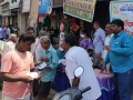 Coronavirus preventive medicine distributed by UARDT at Kurupam Market, Visakhapatnam on 16-March-2020
