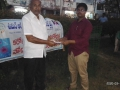 Coronavirus preventive medicine distributed by UARDT at Near Park, Pithapuram on 16-March-2020