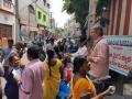 Coronavirus preventive medicine distributed by UARDT at Kondandaramalayam, Visakhapatnam on 17-March-2020