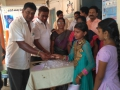 Coronavirus preventive medicine distributed by UARDT at Kode Venkatrao Municipal High School, Tadepalligudem on 18-March-2020