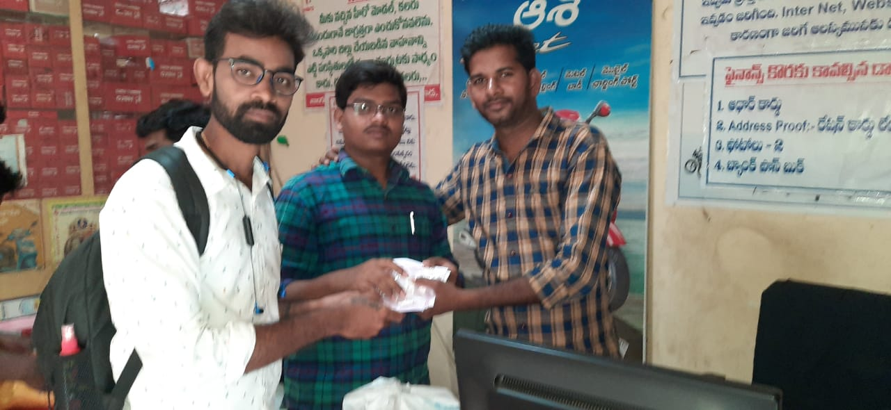 Coronavirus preventive medicine distributed by UARDT at Pithapuram on 18-March-2020