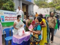 Coronavirus preventive medicine distributed by UARDT at Sri Jagannatha Swamy Temple, Visakhapatnam on 18-March-2020