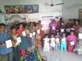 Coronavirus preventive medicine distributed by UARDT at Ravipadu Peetham Ashram, Ravipadu Village on 21-March-2020