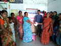 Coronavirus preventive medicine distributed by UARDT at Ravipadu Peetham Ashram, Ravipadu Village on 21-March-2020