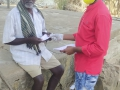 Coronavirus preventive medicine distributed by UARDT at Korukonda Village on 23-March-2020