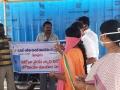 Coronavirus preventive medicine distributed by UARDT at Pedamallapuram Village, Sankhavaram Mandalam on 24-March-2020