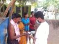 Coronavirus preventive medicine distributed by UARDT at Voolapalli Village on 25-March-2020