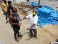 Distribution of food at Balaji hospital hyderabad