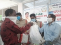 06. Sri . AHMAD ALISHA garu Distribution of rice bags and groceries