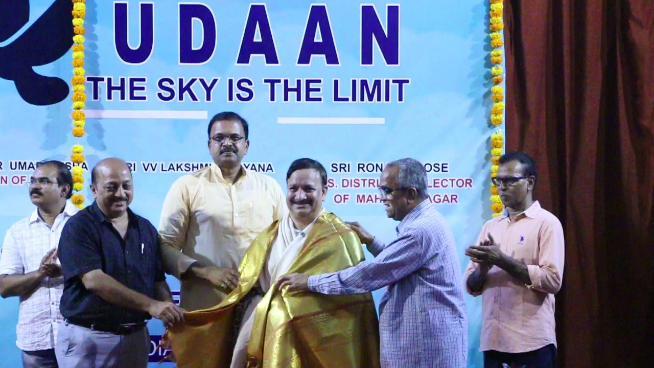 Felicitation to Dr. Umar Alisha The chairman of UARDT, pithapuram