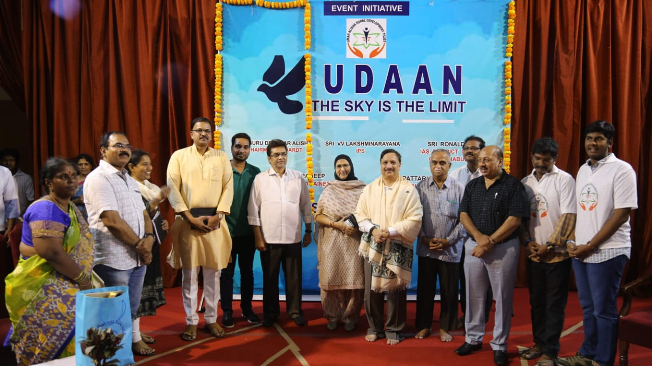Dr. Umar Alisha The chairman of UARDT, pithapuram, Hyderabad, Sri Ronald Rose IAS, Collector of Mahbubnagar District, Dr BV Pattabhiram Psychologist, Pradeep Actor, Udaan, The Sky is the limit