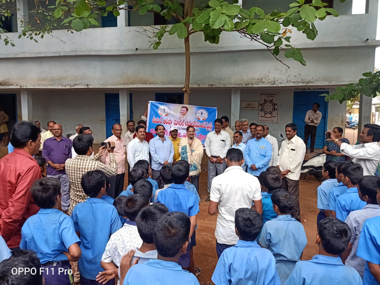 Speech by Dr.Umar Alisha, Chairman of UARDT during inauguration of RO water plant at  R.R.BH.R GOVT HIGH SCHOOL, Pithapuram