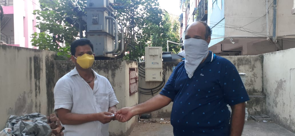 02-Coronavirus-Srinivasa NagarAkkayyapalemVisakhapatnam-10Apr2020