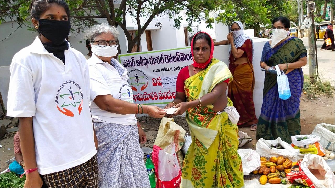 02-Coronavirus-FreeMasks-Vanasthalipuram-Hyderabad-17Apr2020