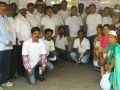 Dr Umar Alisha , Chairman , UARDT with Make Vizag Green Volunteers