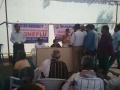 Free SWINE FLU Preventive Homoeo medicine distribution camp at GITAM UNIVERSITY, visakhapatnam
