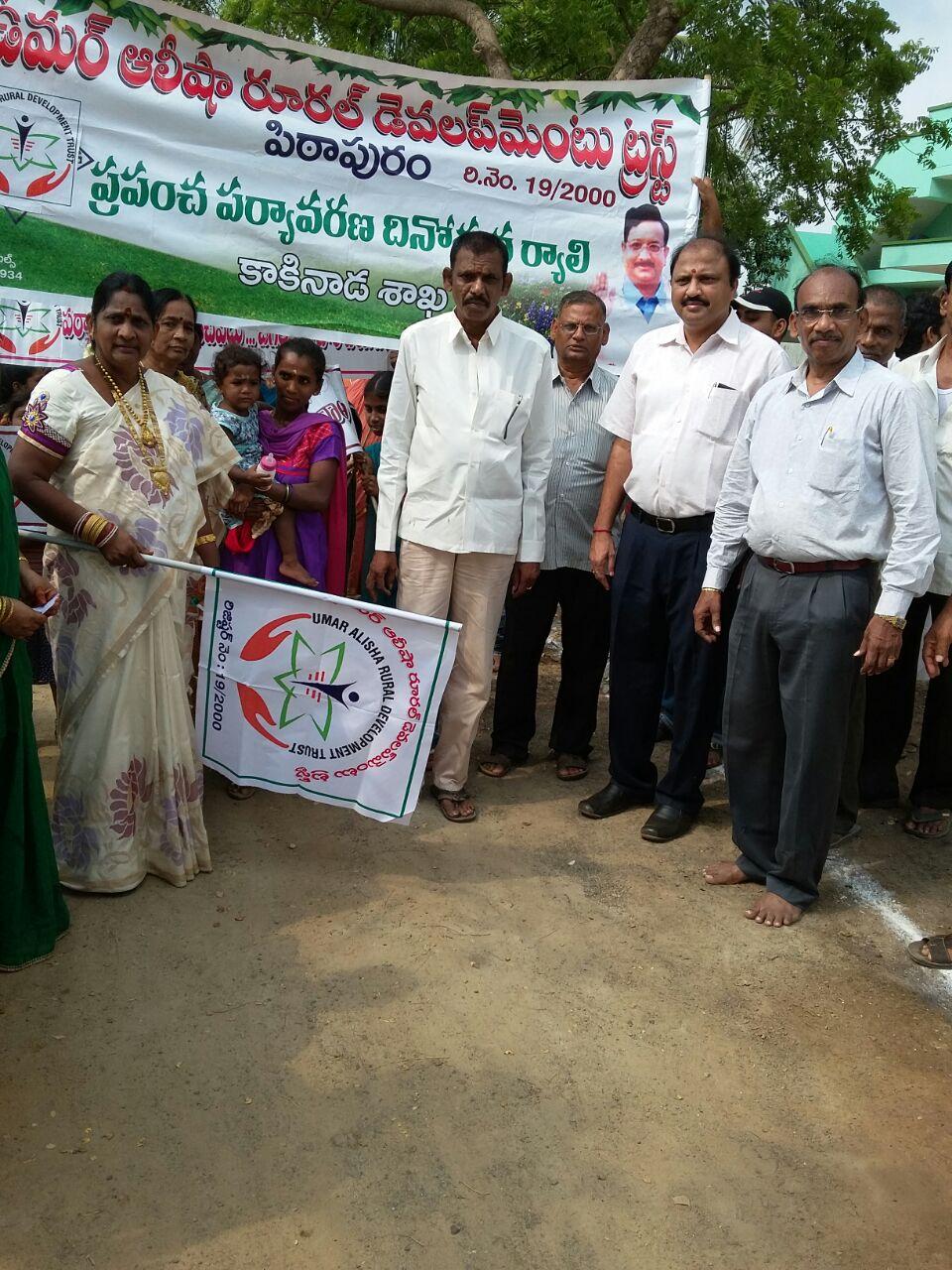 World Environment Day Rally at Kakinada 05-06-2015
