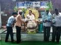 Dr Umar Alisha distributing saplings at Pithapuram Old Ashram premises