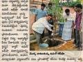 News Paper Clipping on Make Pithapuram Green in Sakshi