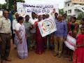 World Environment Day Rally - Kakinada Rural MLA Smt Pilli Anantha Laxmi inaugurated Rally and planted a sapling at BR Ambetkar community hall, Vakalapudi, Kakinada Rural.