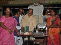 Distribution of sewing machine by Dr.Umar Alisha (Chairman of UARDT); contributed by Peruri Vikram.
